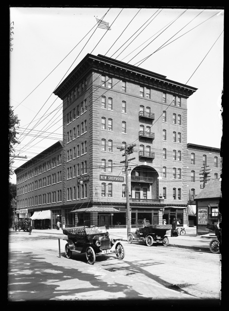 [New Sherwood Hotel, Burlington, Vt.]