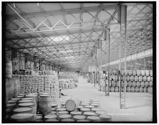 New York Central freight sheds, Buffalo, N.Y.