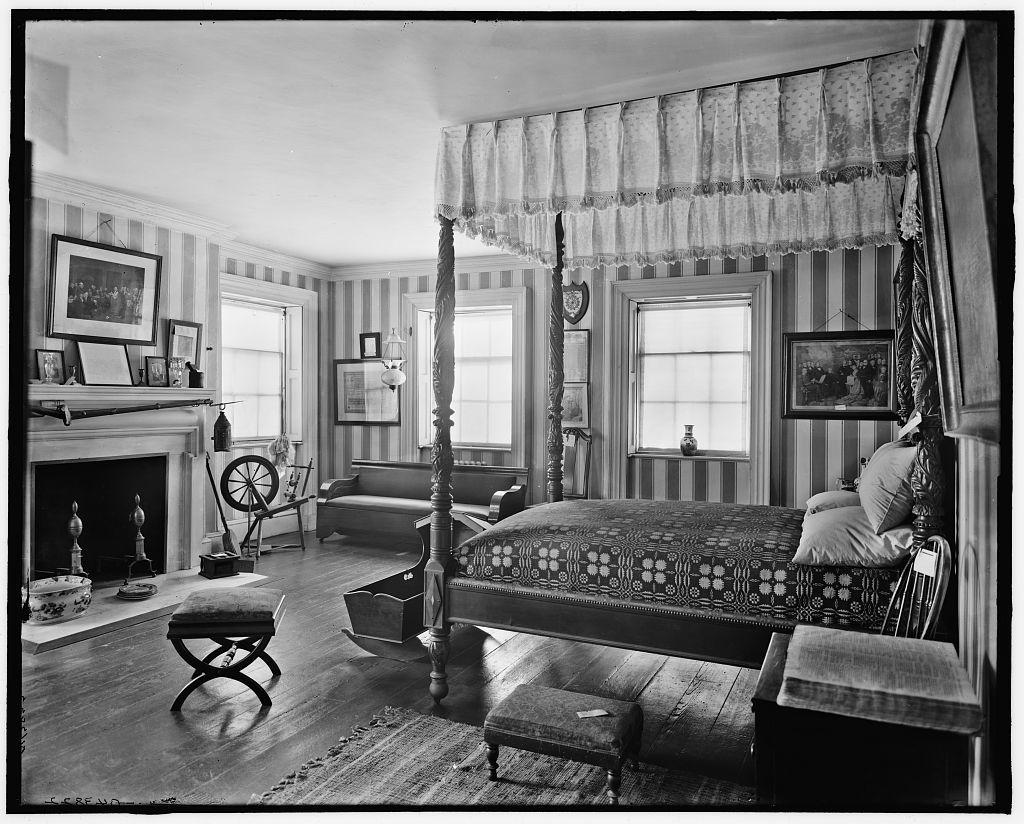 [New York, N.Y., Washington's bedroom, Washington headquarters (Morris-Jumel Mansion)]