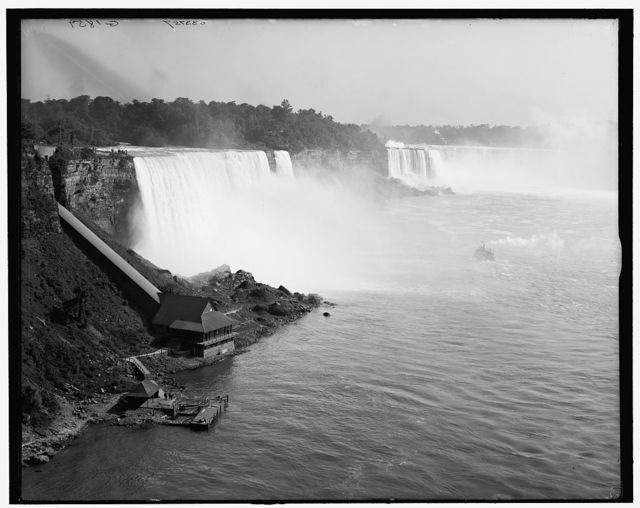 [Niagara Falls, N.Y., from International Bridge]