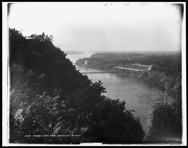 Niagara Gorge from Queenstown [sic] Heights