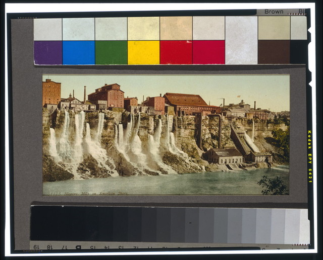 Niagara, mills on American shore