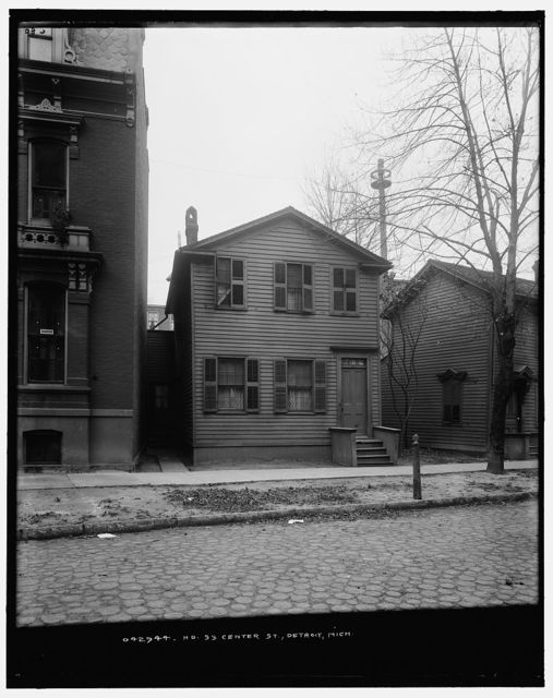 No. 33 Center St. [Street], Detroit, Mich.
