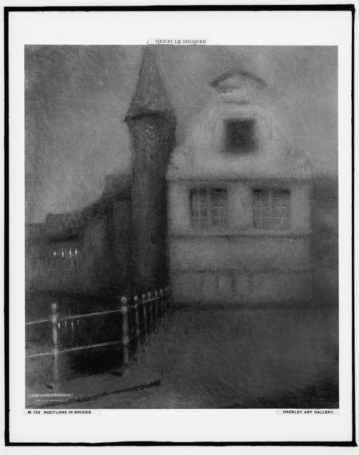 Nocturne in Bruges