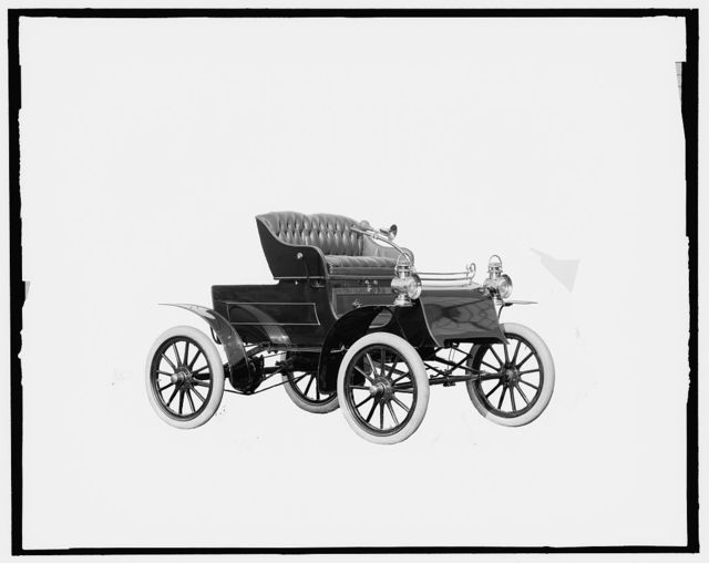 [Northern automobile, front quarter view without top]