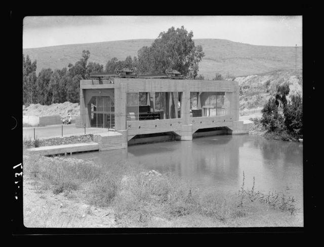 Northern views. Bridge over Jordan at Semakh