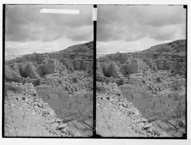 Northern views. The excavations at Samaria. Ruins of Samaria, general view