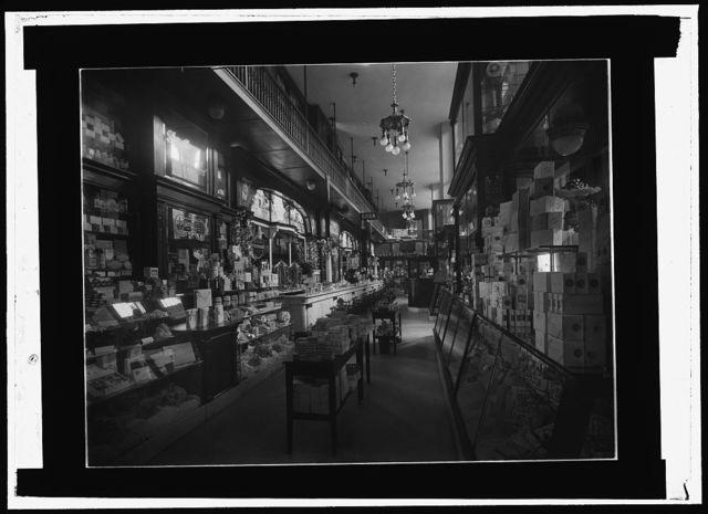 [N.Y. drug store, Pennsylvania Station]
