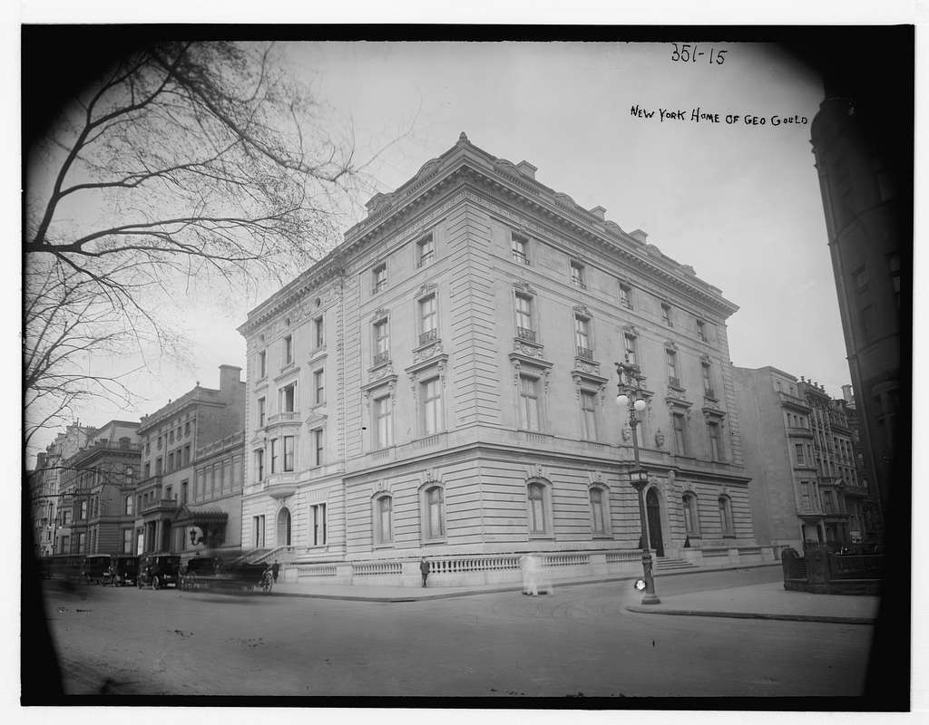 N.Y. home of Geo. Gould