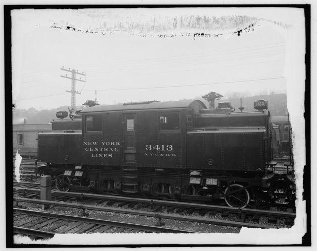 [N.Y.C. R.R. (New York Central Railroad), electric locomotive]