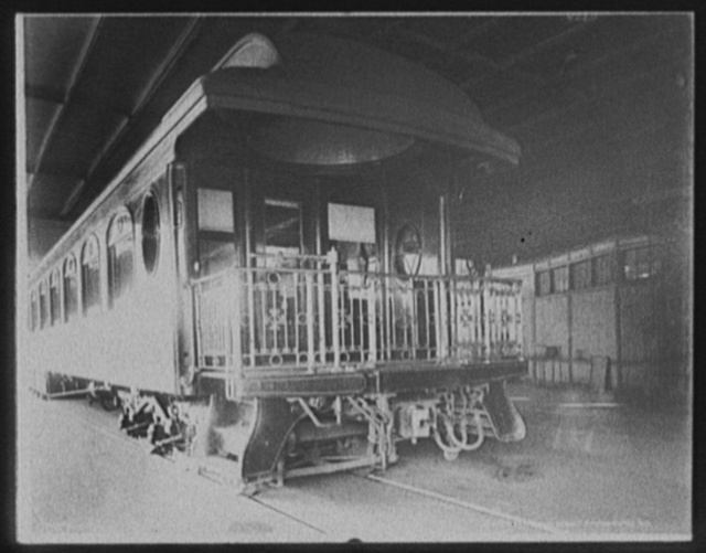 [Observation platform, Chicago and Alton Railroad]