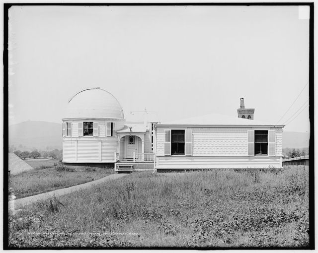 Observatory, Mt. [Mount] Holyoke College, South Hadley, Mass.