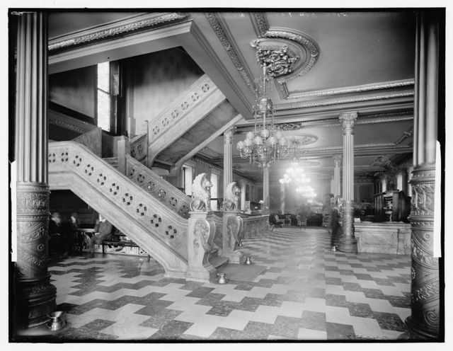 Office and foyer, Murray Hill Hotel