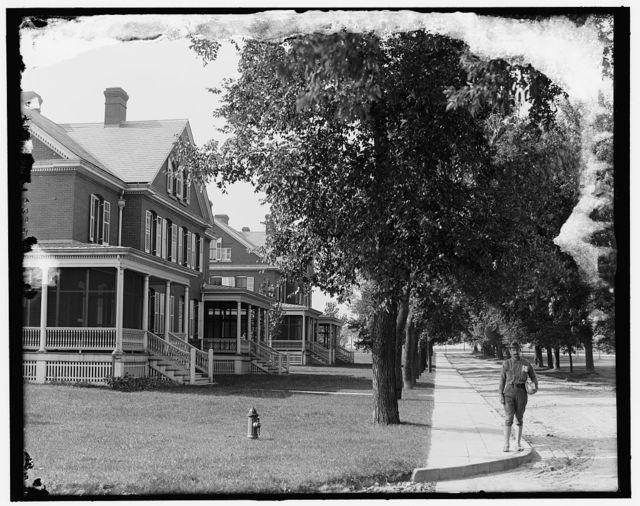 [Officers' quarters, Ft. Snelling, Minn.]