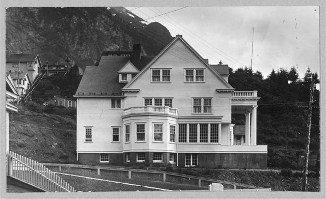 Official residence of the governor of Alaska