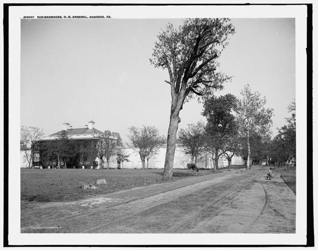 Old barracks, U.S. Arsenal, Augusta, Ga.