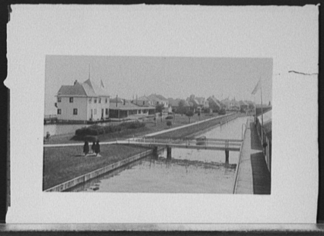 [Old Club, rear view, looking south, Saint Clair Flats, Mich.]