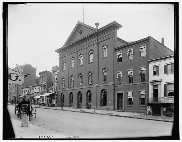 [Old Ford's Theater, where Lincoln was assassinated]