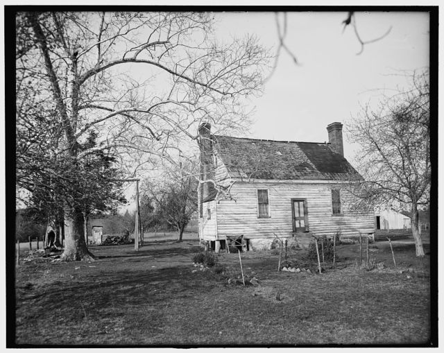 [Old Hillard homestead, Richmond, Virginia]
