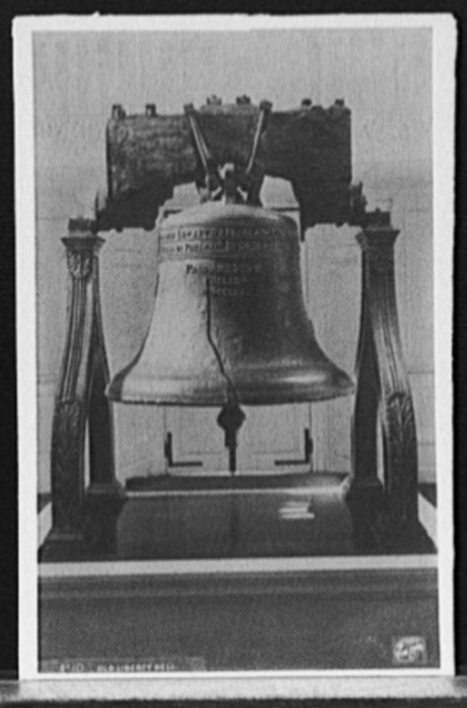 Old Liberty Bell, [Independence Hall, Philadelphia]