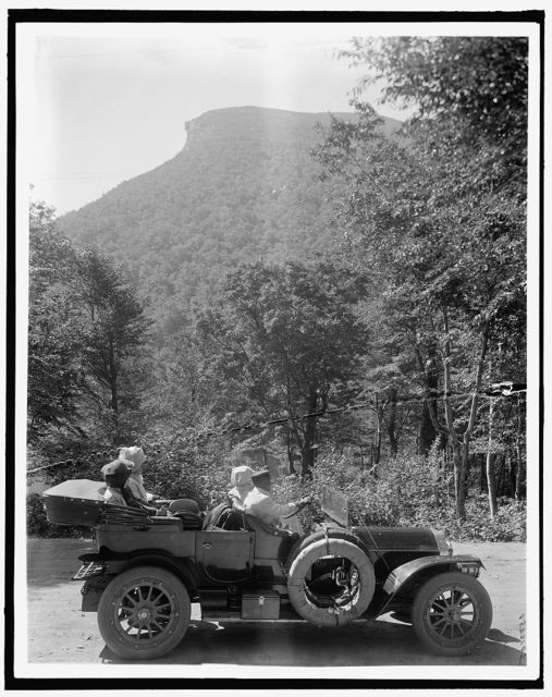 [Old Man of the Mountain (profile), White Mts., N.H.]