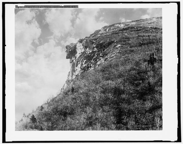 Old Man of the Mountains [i.e. Mountain], Franconia Notch, N.H.