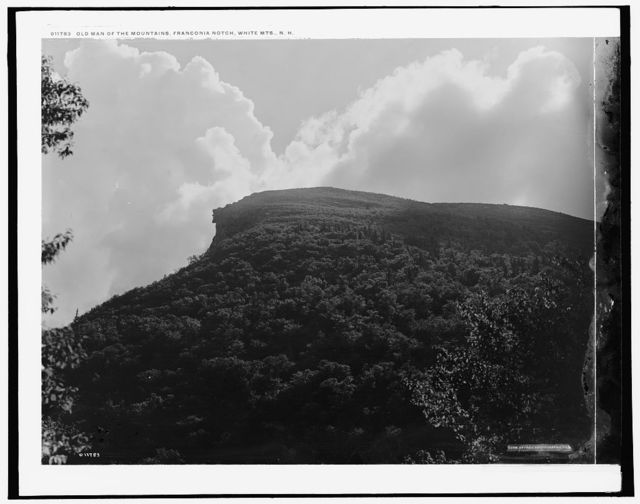 Old Man of the Mountains [i.e. Mountain], Franconia Notch, White Mts., N.H.