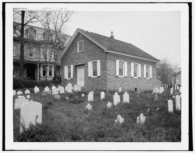 Old Mennonite Church, Germantown, Pa.