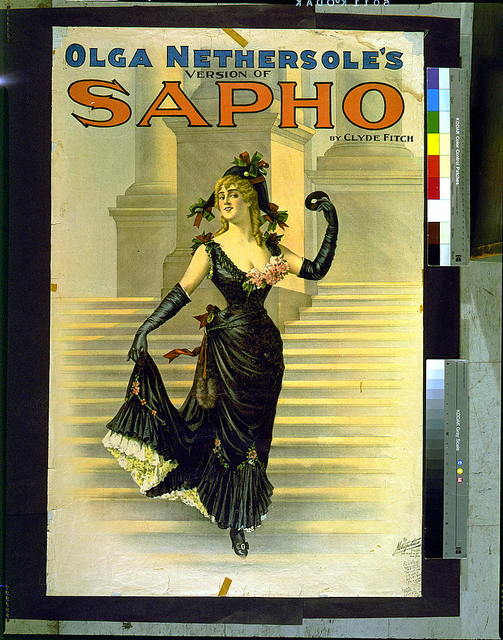 Olga Nethersole's version of Sapho by Clyde Fitch.