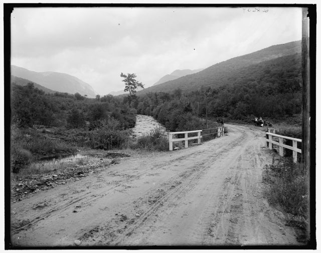 [On the road to Profile House, Franconia Notch, White Mts., N.H.]