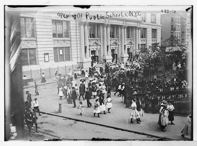 Opening of public schools, N.Y.C. [New York City]