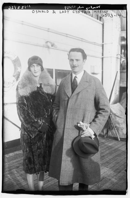 Oswald & Lady Cynthia Mosley
