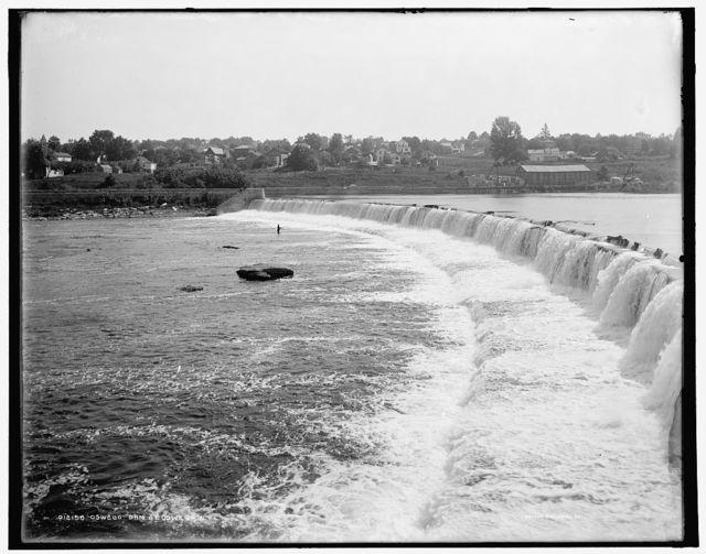 Oswego, dam at Oswego, N.Y.