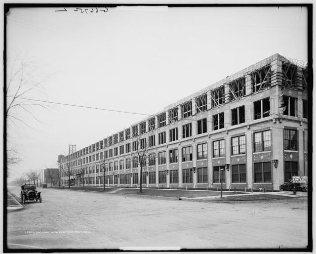 Packard [Motor Car Company] Auto Plant, Detroit, Mich.