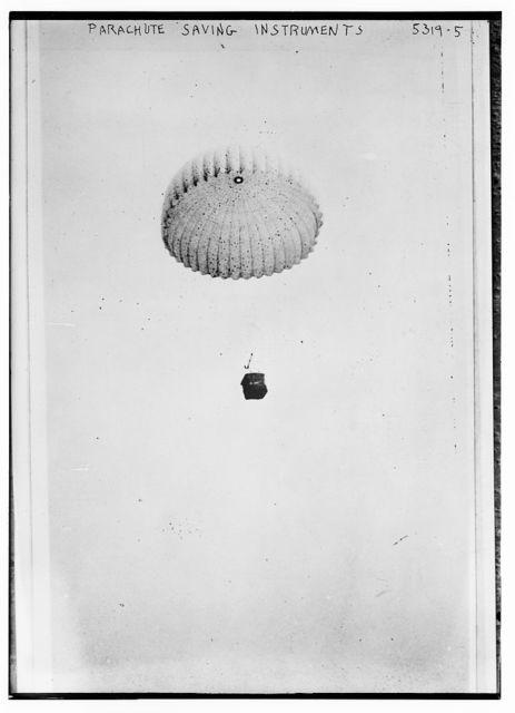 Parachute saving instruments