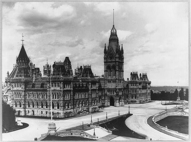 Parliament Buildings, Ottawa, Canada, before 1927