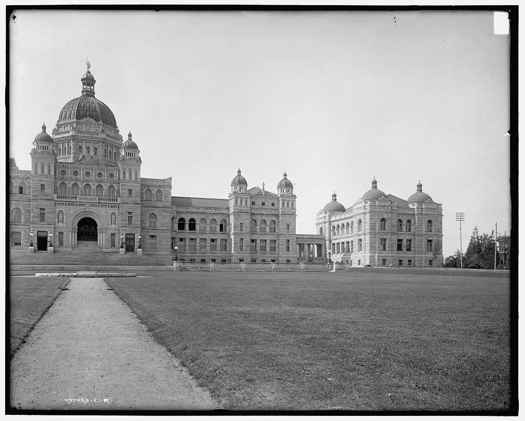 [Parliament buildings, Victoria, B.C., Canada]