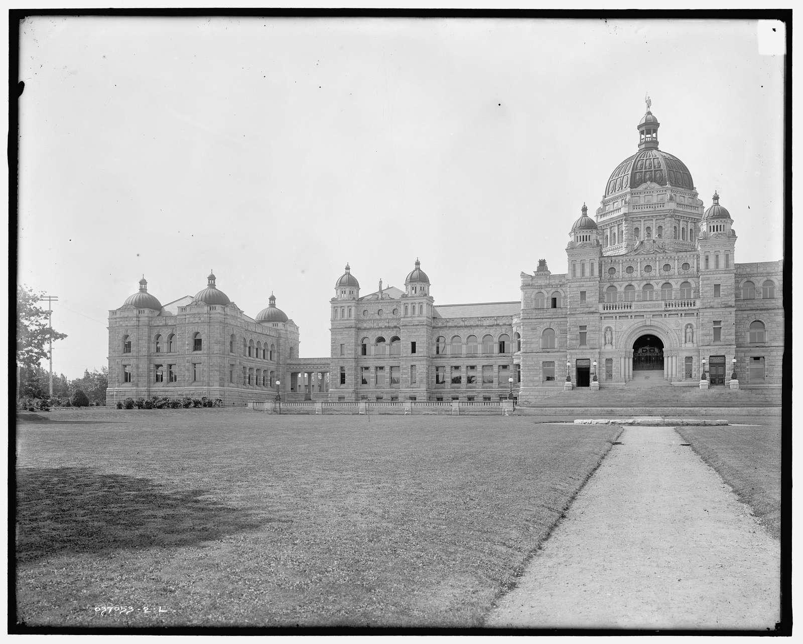 Parliament buildings, Victoria, B.C., Canada
