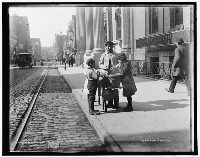 Peanut stand, West 42nd [Forty-second] St., New York