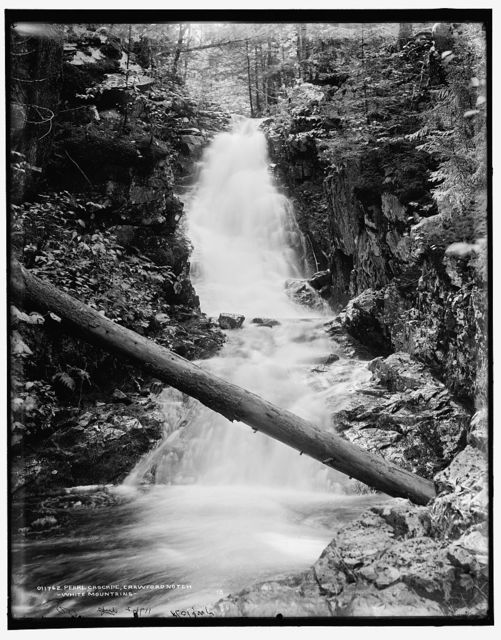 Pearl cascade, Crawford Notch, White Mountains