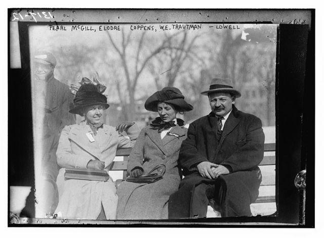 Pearl McGill, Elodre Coppens, W.E. Trautman - Lowell