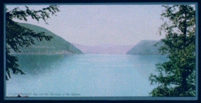 Peekskill Bay and the narrows of the Hudson