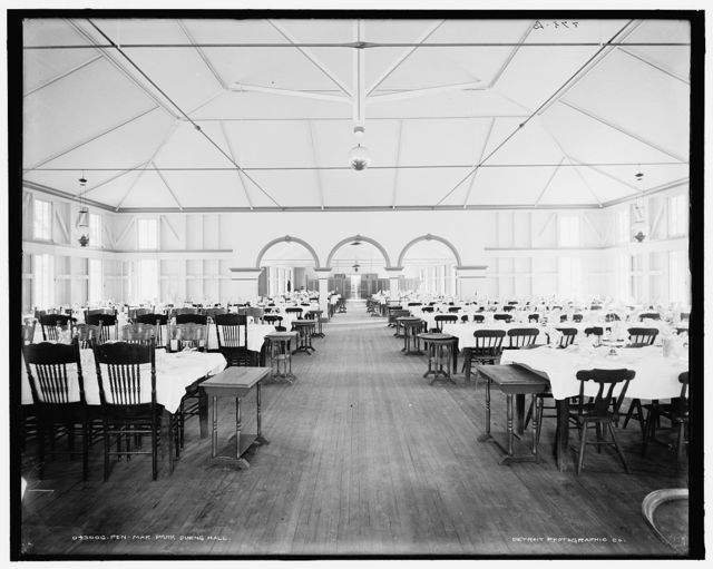 Pen-Mar Park, dining room