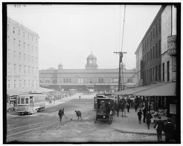 [Pennsylvania Railroad ferries, Market Street, Philadelphia, Pa.]