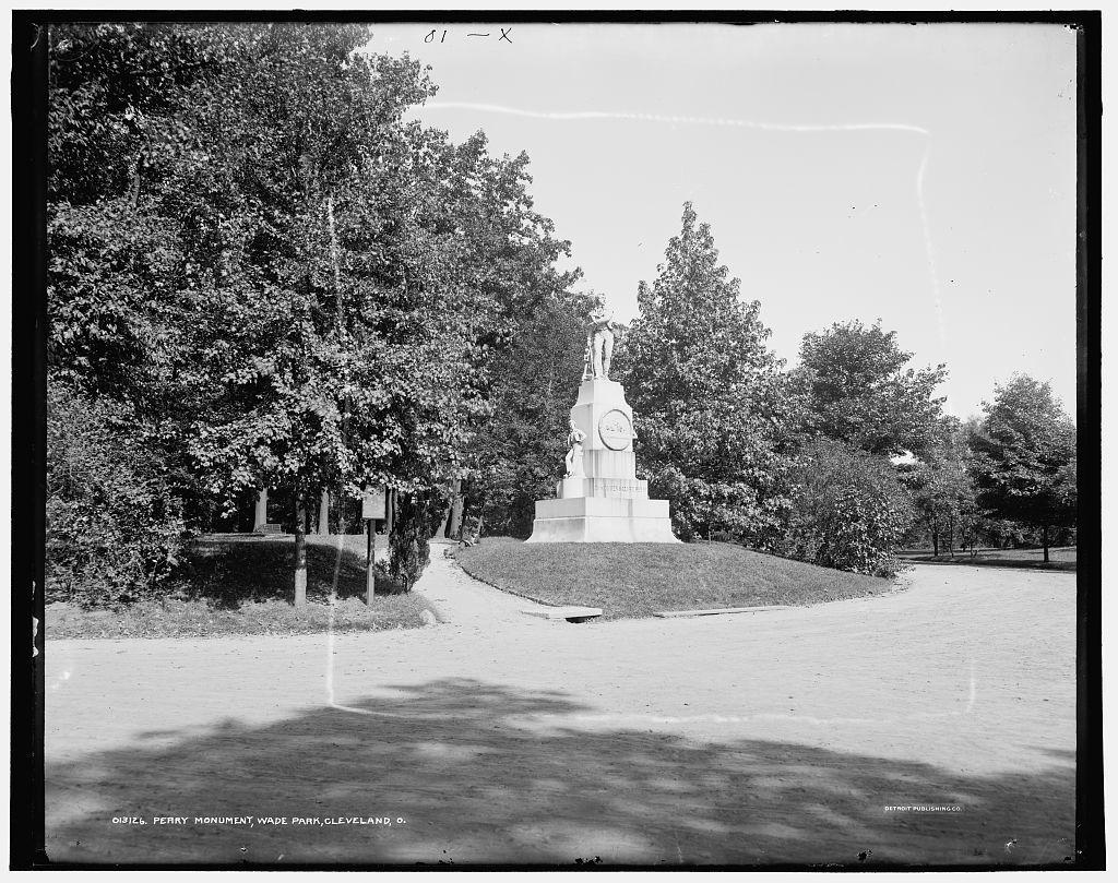 Perry Monument, Wade Park, Cleveland, O[hio]