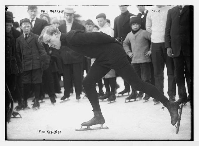 Phil Kearney of Saratoga Skating Club, Brooklyn, N.Y.