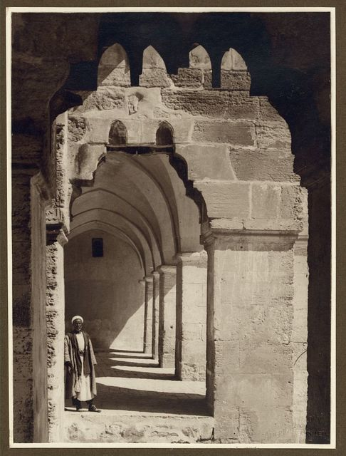 Photographs of architectural monuments in Jerusalem, Syria, and Egypt