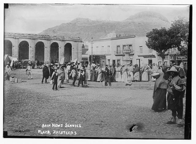 Plaza, Zacatecas