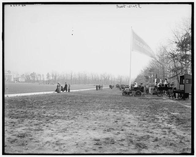 [Polo grounds at Georgian Court, Lakewood, N.J.]