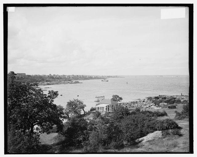 [Portland harbor from Cape Cottage, Portland, Me.]